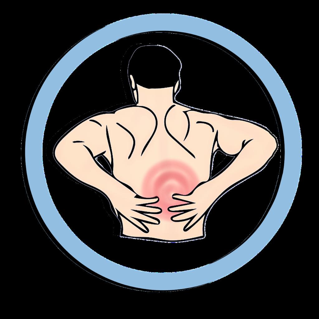 כאב במרכז הגב